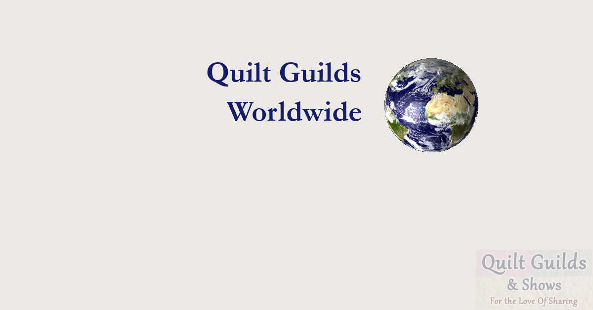 quilt guilds of worldwide
